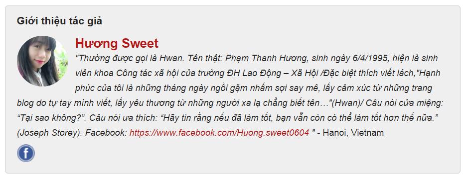 Thông tin Hương Sweet