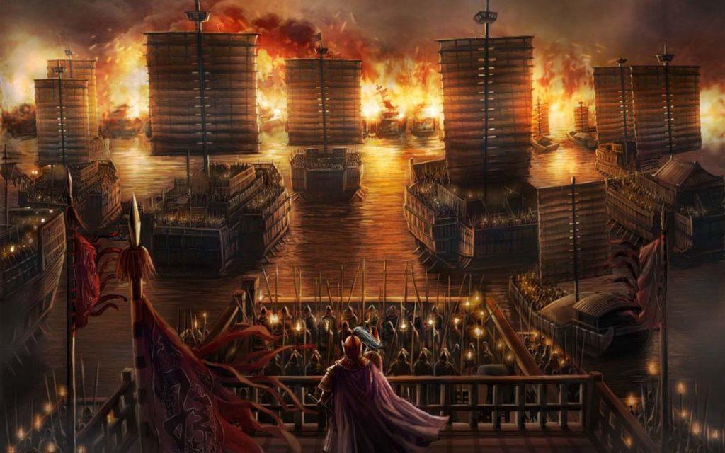 171 130628010955 1 1024x640 - Bình luận về trận đại chiến Xích Bích giữa liên quân Tôn - Lưu và Tào - trai-nghiem, giai-tri