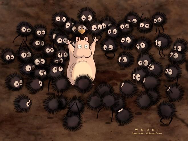 20140602074236 http img.v3.news .zdn .vn w660 Uploaded xbhunku 2014 06 01 susuwatari - Các nhân vật hoạt hình nổi tiếng của Ghihbi - trai-nghiem, giai-tri