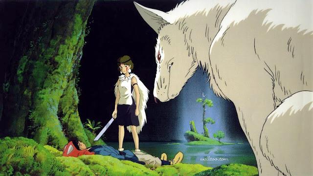 Công Chúa Mononoke 2 - Mononoke Hime (1997): Nàng công chúa sói hoang dã - trai-nghiem, giai-tri