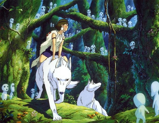 Công Chúa Mononoke 3 - Mononoke Hime (1997): Nàng công chúa sói hoang dã - trai-nghiem, giai-tri