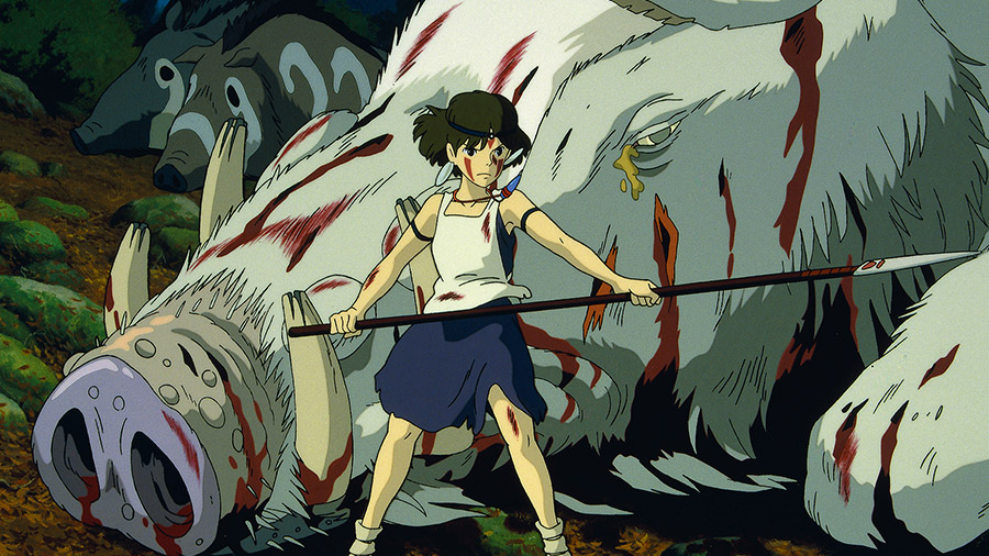 Princess Mononoke Cong Chua Mononoke 3 - Mononoke Hime (1997): Nàng công chúa sói hoang dã - trai-nghiem, giai-tri
