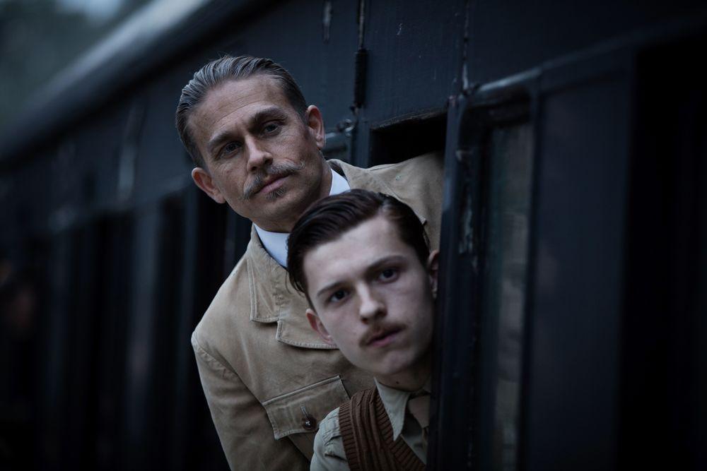 Vater und Sohn Fawcett wollen gemeinsam nach der versunkenen Stadt Z suchen: Percy (Charlie Hunnam) und Brian (Tom Holland)