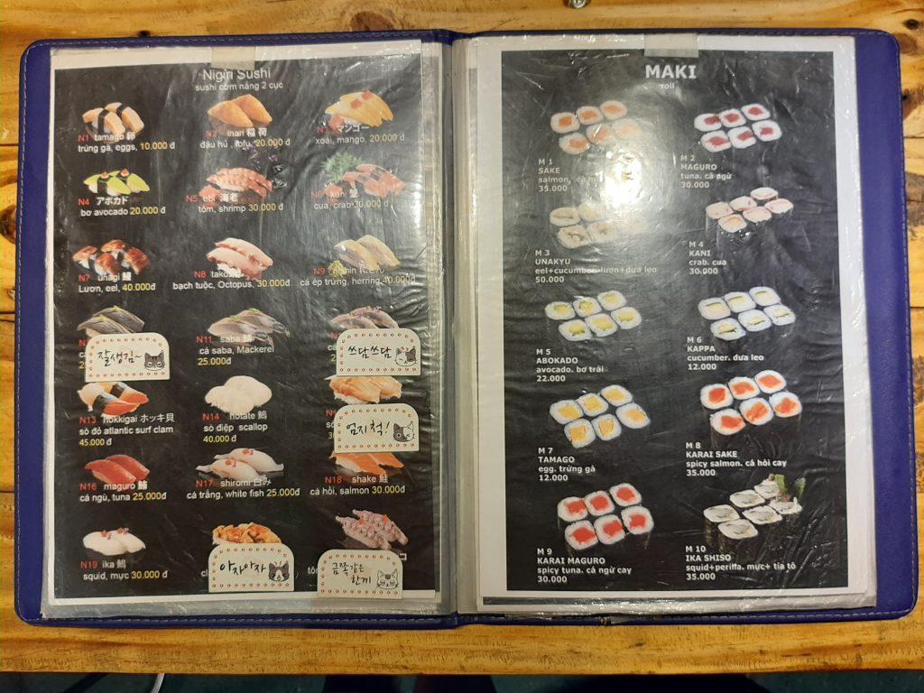 sushi sunhi quan 8 4 1024x768 - Xe sushi giá bình dân mà chất lượng bất ngờ tại quận 8 - trai-nghiem, am-thuc