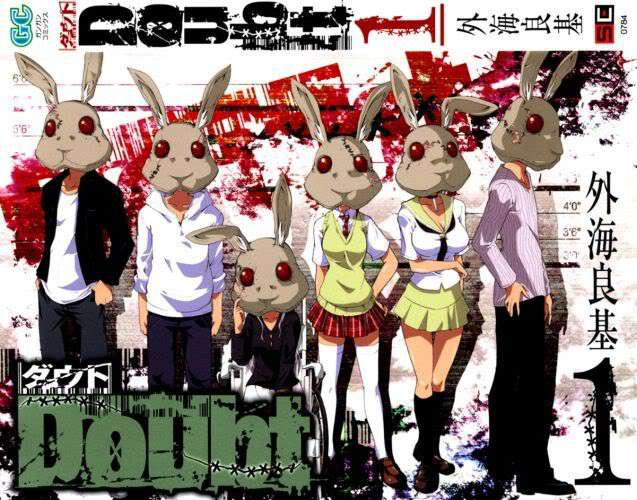 4.Rabbit Doubt Tonogai Yoshiki - Những manga kinh dị gây ám ảnh bạn nên xem qua - trai-nghiem, giai-tri