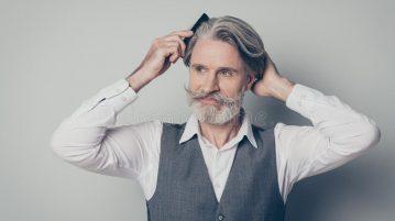 portrait old gentleman prepare business meeting comb brush clear hygiene haircut wear shirt vest waistcoat portrait old 170071094 359x201 - Carmen - Lady in red -