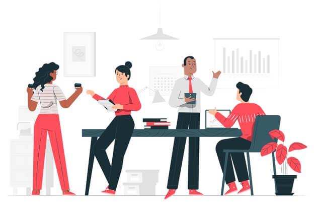 office concept illustration 114360 1248 - Điều gì giúp bạn bán hàng thành công? - goc-marketing, ban-hang