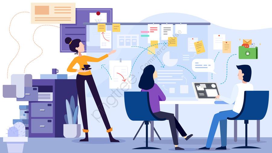 pngtree business office flat character meeting png image 37339 - Điều gì giúp bạn bán hàng thành công? - goc-marketing, ban-hang